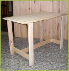 Простой стол